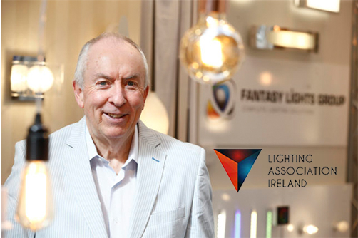 Gay Byrne – Lighting Association Ireland Chairman