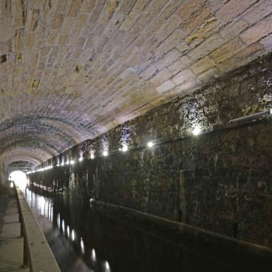 Falkirk Tunnel Project commercial led lighting