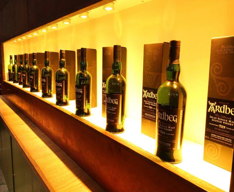 MaxiLED - Ardbeg Distillery GU10 commercial led lighting