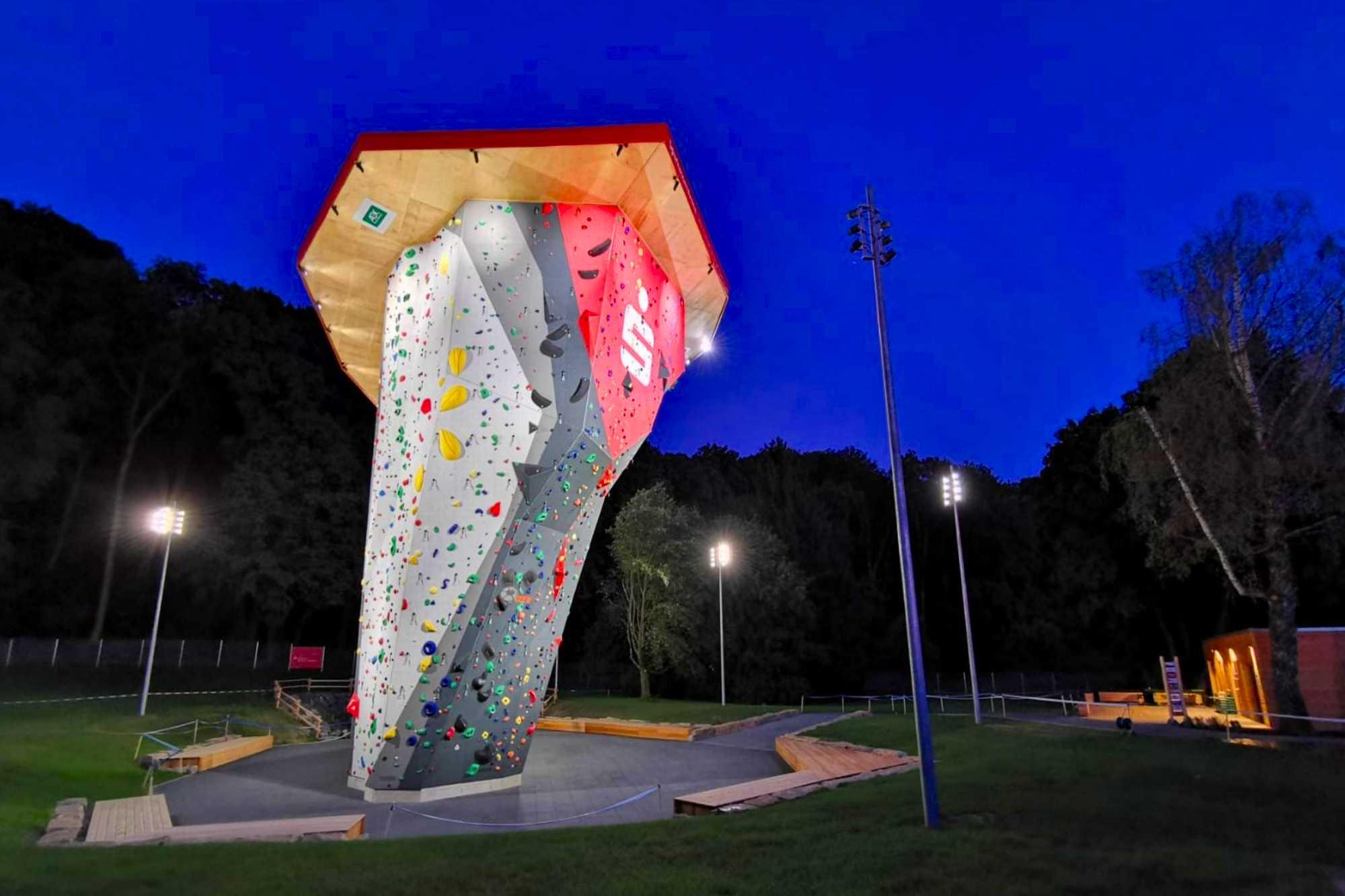 Sparkassen Arena DAV Climbing Center