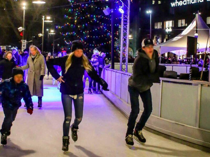 The Skate Ribbon At Riverfront Park